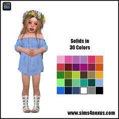 "sims4nexus: "" Lucia -A Dress for Toddler Girls- | GO TO DOWNLOAD PAGE | CC Info Below Читать дальше """