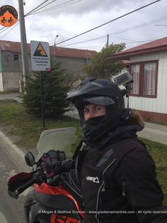 Tsunami!? In Tierra Del Fuego!?  2 doctors traveling by motorcycle Argentina to Alaska for Doctors Without Borders
