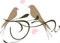 Love Birds clip art - vector clip art online, royalty free & public ...
