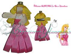 Escultura en cinta de la Princesa Aurora (La Bella Durmiente)