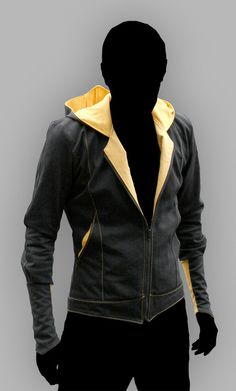 Assassin Beaked Jacket: by Volante Design    But in white with blue