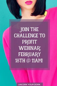 If you are looking for your audience, your message and your traffic surge moment...join me on February 18th for a free webinar!  via @girlymcnerdy