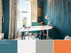 Peacock Blue | HGTV >> http://www.hgtv.com/design-blog/design/vote-for-your-favorite-fall-color?soc=pinterest