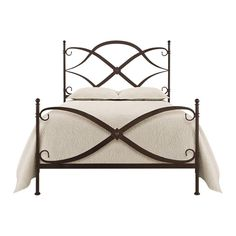 Our signature wrought iron bed. Featured in the Warehouse Sale! Shop Arhaus.