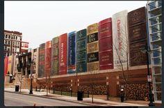 Bibliothèque publique à Kansas City, USA