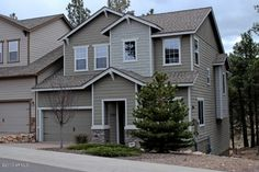Flagstaff townhouse for sale...the perfect second home! Backs to National Forest, lots of luxury upgrades, and minutes from NAU.