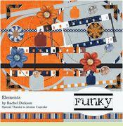 FREE Digital Scrapbooking Kit - Funky