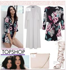 """""""Kendall & Kylie for Topshop"""" by nfabjoy ❤ liked on Polyvore"""