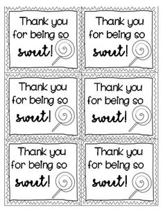 End of Year Thank You Tags Black and White Volunteer Appreciation Gifts, Appreciation Message, Volunteer Gifts, Employee Appreciation, Candy Gifts, Gag Gifts, Thank You Tags, Thank You Gifts, Thank You Baskets