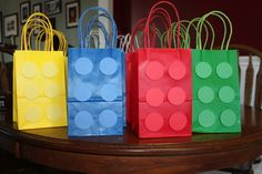 Goodie Bags     Lego Bags Lego Bag, Goodie Bags, Silicone Molds, Products, Fiestas, Goody Bags, Gadget