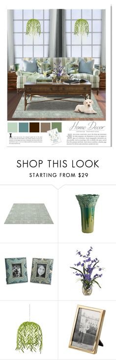 """""""Blue & Green 5"""" by mysfytdesigns ❤ liked on Polyvore featuring interior, interiors, interior design, home, home decor, interior decorating, IMAX Corporation, WALL, Tommy Bahama and Tiffany & Co."""