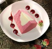 GELATERIA ENRICO S.R.L. -  PIZZO Fragola Gelato, Panna Cotta, Pudding, Ethnic Recipes, Desserts, Food, Recipes, Meals, Tailgate Desserts