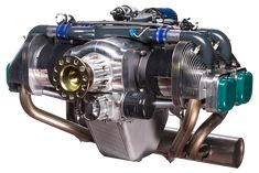 Aero engine for single or 2 seats planes with 4 cyl. Plane Engine, Vw Engine, Aircraft Engine, Ultralight Helicopter, Helicopter Kit, Kit Planes, Electronic Control Unit, Aircraft Propeller, Motors