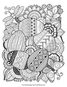 Easter Mandala Coloring Pages. 20 Easter Mandala Coloring Pages. Printable Easter Mandala Coloring Pages Free Easter Egg Easter Coloring Pages Printable, Easter Egg Coloring Pages, Spring Coloring Pages, Mandala Coloring Pages, Coloring Pages To Print, Coloring Book Pages, Coloring Sheets, Easter Printables, Free Printables