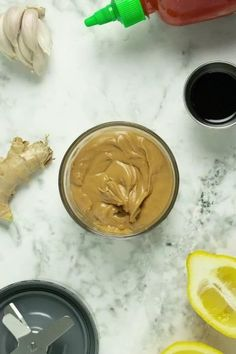 This peanut sauce comes together in minutes in the blender and works like a charm as a sauce or as a flavorful peanut dressing. It's rich, creamy, gingery perfection!    #peanutsauce #peanutdressing #vegan #peanutbutter #blender #easy #recipe Peanut Butter Sauce, Creamy Peanut Butter, Healthy Crockpot Recipes, Delicious Vegan Recipes, Tasty, Vegan Lunches, Vegan Snacks, Peanut Dressing, Sauce Recipes