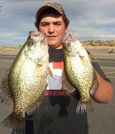 We have great fishing in Moses Lake too.
