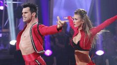 Tony Dovolani and Audrina Partridge.