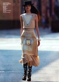 Sui He for Vogue China November 2011