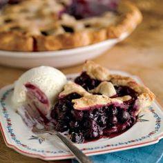 Williams Sonoma Blueberry Pie Recipe