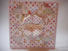 More Than Words Quilt Card by Phillipa Lewis.