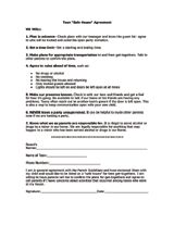 Home Alone Contract for Teens Printable - FamilyEducation.com