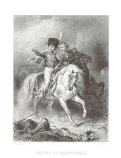 Eugène Rose de Beauharnais - Image taken from page 117 of 'Histoire du Consulat et de l'Empire, faisant suite à l'Histoire de la Révolution Française'