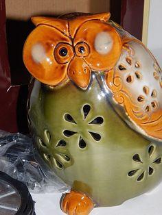 Owl Scenterrific Decorative Fragrance Warmer Flickering LED Candle Glow Vanilla  #Westinghouse