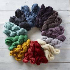 We were so thrilled to open the pages of the new Interweave Spring 2018 to find an article about our new yarn, Andorra! I mean, it's good business practice to send yarn to magazine editors if you want them to use your yarns, but we didn't think the yarn would speak to the editors so eloquently! Wri