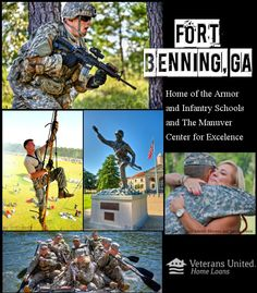 Fort Benning has served as the Home of the Infantry since 1918 and became the Home of the Armor as a result of the 2005 Base realignment and Closure Commission. It is also home to the Western Hemisphere Institute for Security Cooperation, elements of the 75th Ranger Regiment, 3rd Brigade-3rd Infantry Division, and various other units. Did your infantry solider train at Fort Benning? Were you stationed here? Let us know how you enjoyed it!