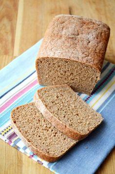 100 százalék teljes kiőrlésű kenyér Naan, Cornbread, Bread Recipes, Banana Bread, Paleo, Healthy Recipes, Homemade, Ethnic Recipes, Desserts