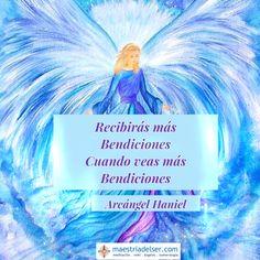 #recibirás #bendiciones #bendición #arcángelhaniel #arcángeles #maestriadelser