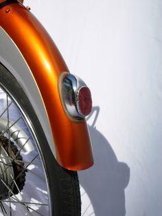 Nassetti Sery rear fender. Copper and silver.