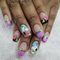 Fun Nails, Nail Designs, Nail Art, Hair, Finger Nails, Nail Manicure, Animales, Nail Desighns, Whoville Hair