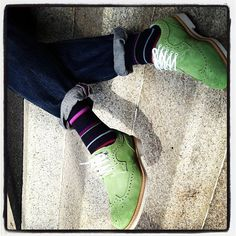 Green Snob Shoes!!!