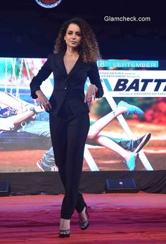 Kangana Ranaut and Imran Khan brings 'Katti Batti' to Umang 2015 Western Outfits, Indian Outfits, Androgynous Look, Beautiful Indian Actress, Bollywood Actress, Indian Actresses, Indian Fashion, Looks Great, Stylists