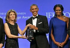 #44 President Barack Obama First Lady Michelle Obama, and Caroline Kennedy Schlossberg at the Kennedy Center Honors