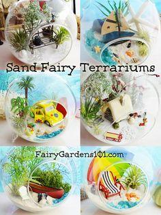 Sand Fairy Terrariums