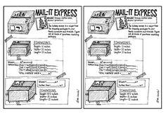 This is a one-page file that includes two mini-sheets students can cut out and put in their interactive math notebooks. It is hand-sketched, so I apologize if the clarity is off by any means. Hence, it's free! =) It relates volume and surface area to mailing packages during the holiday season.