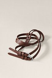 Always add a belt! LE Canvas double belt for $21!