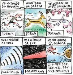 VELOCIDADE DA FOFOCA!