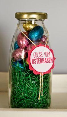 Janas Bastelwelt - Unabhängige Stampin' Up! Demonstratorin: Schnelles Ostermitbringsel