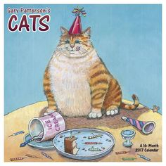 Gary Patterson's Cats 2017 Calendar (Paperback)