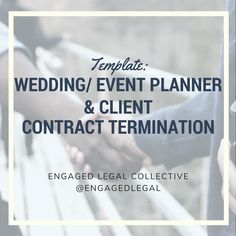 Wedding Planner Contract Event Planner Contract Protect Your