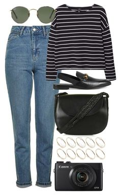 """Untitled #6230"" by rachellouisewilliamson on Polyvore featuring Topshop, MANGO, Gucci, Ray-Ban and ASOS"