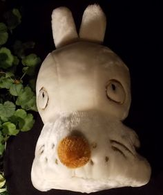 "Plush Mashimaru Dog Face Back Bunny Cartoon  Anime Soft 15"" Korea Marshi Maru"