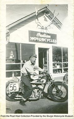 """Clarence """"Pappy"""" Hoel, founder of the Sturgis Motorcycle Rally"""