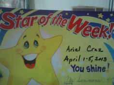 """Star of the Week"""