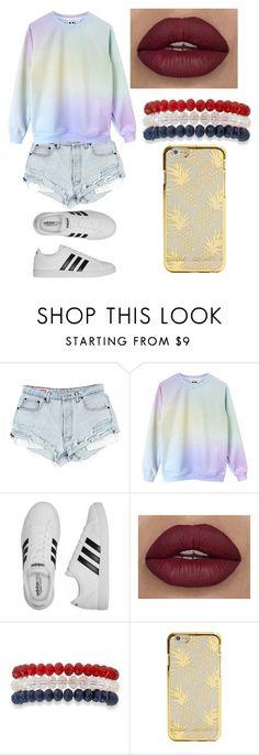 """""""Untitled #2197"""" by aiag ❤ liked on Polyvore featuring adidas and Kim Rogers"""
