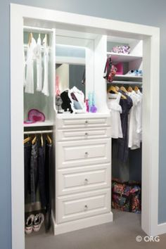 Organize Your Closet and Home - Reach In Closet Designs That Work / Closets  by Colorado Space Solutions -