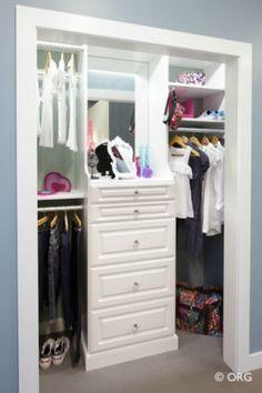 Custom closet system by  Organized Hawaii - Oahu, Maui, Big Island, Kauai, Molokai, Lanai